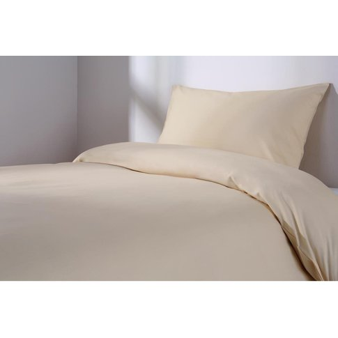Essentials Spectrum Fitted Sheet Oatmeal Metric Single