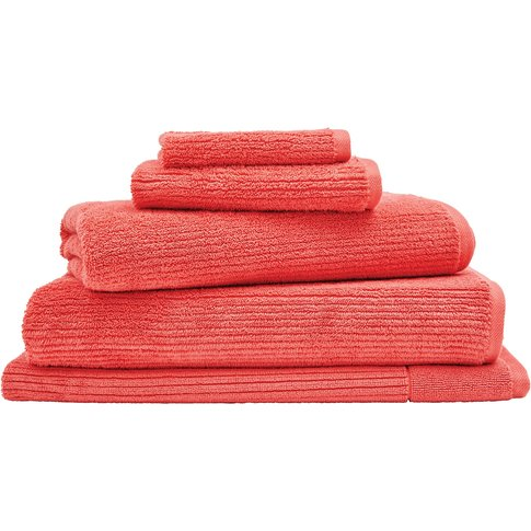 Sheridan Living Textures Towel Collection - Coral / ...
