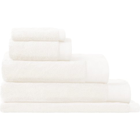 Sheridan Luxury Retreat Towel Collection - White / B...
