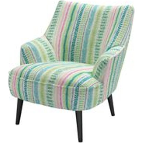 Peggy Armchair In Dawn Lucy Tiffney London Lagoon St...