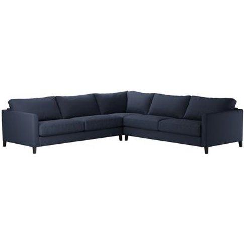 Izzy Large Corner Sofa In Mercury Smart Linen