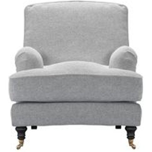 Bluebell Armchair in White Cliffs Whitstable