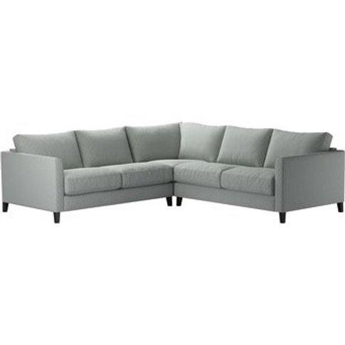 Izzy Small Corner Sofa In Nickel Hawthorn Stencil