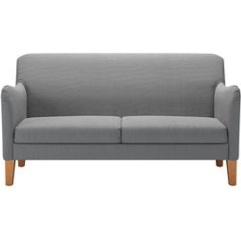 Lily 2 Seat Sofa In Shadow Brushed Linen Cotton