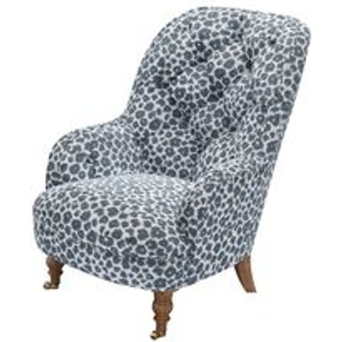 Penelope Armchair In Hippo Jungle Cat