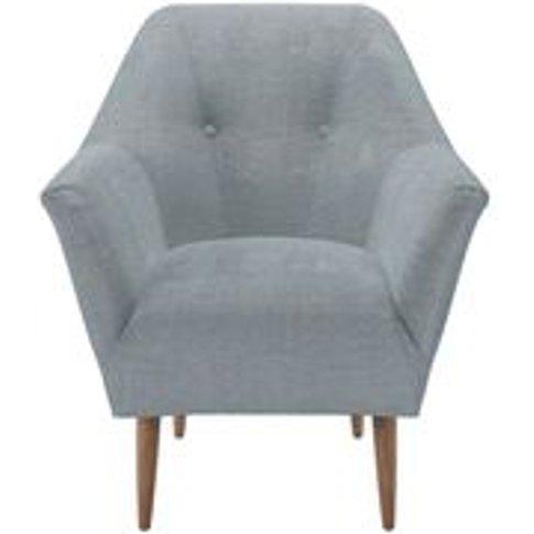 Minnie Armchair in Buttermere Baylee Viscose Linen