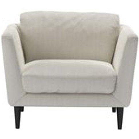 Holly Armchair In Clay House Herringbone Weave