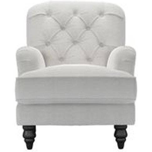 Snowdrop Button Back Small Armchair In Pumice House ...