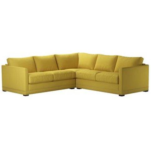 Aissa Small Corner Sofa In Lemon Drop Pick 'N' Mix C...