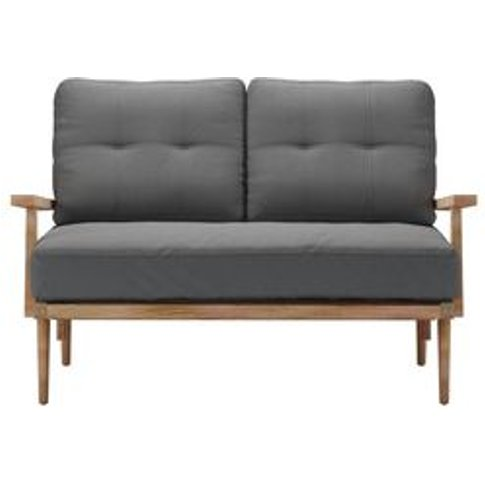 Hendrik 2 Seat Sofa In Dolphin Smart Linen