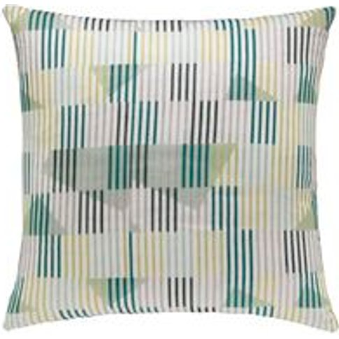 55x55cm Scatter Cushion In Meadow Collage