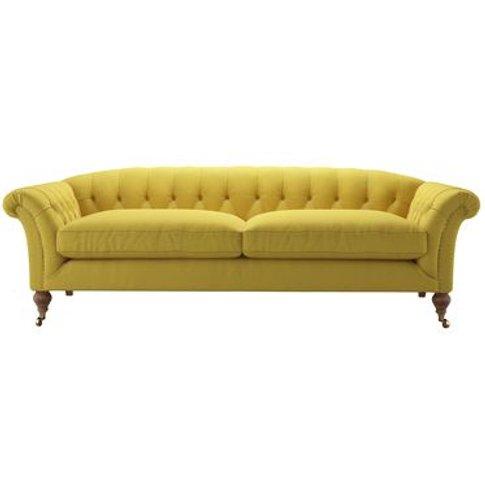 Humphrey 3 Seat Sofa In Lemon Drop Pick 'N' Mix Cotton