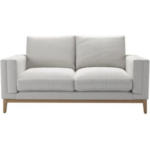 Costello (Plinth) 2 Seat Sofa In Alabaster Brushed L...