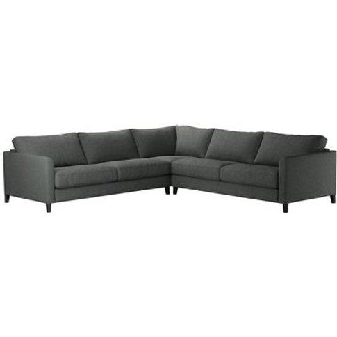 Izzy Large Corner Sofa In Wells Norfolk Cotton