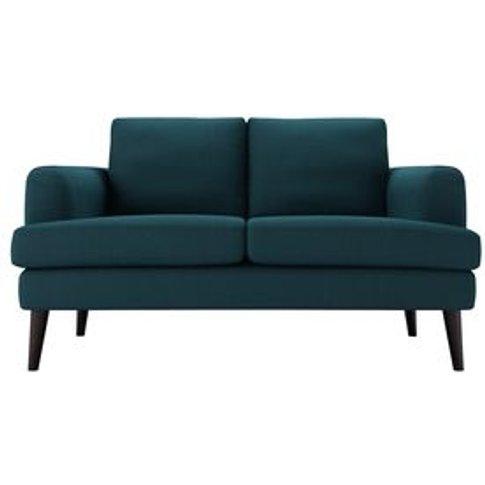 Reuben 2 Seat Sofa In Evergreen  Brushed Linen Cotton