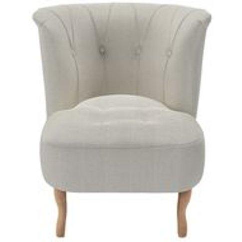 Evie Armchair In Clay House Herringbone Weave