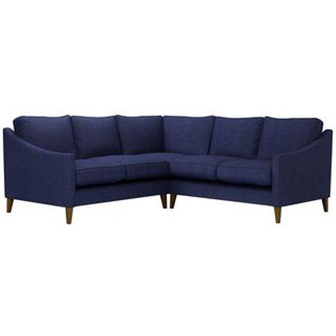 Iggy Small Corner Sofa In Woad Soft Wool