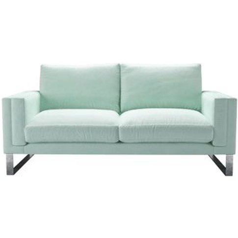 Costello 2.5 Seat Sofa In Pistachio Smart Velvet