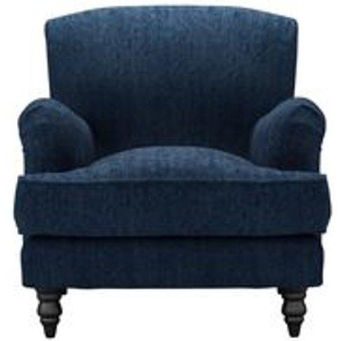 Snowdrop Armchair In Channel Blue Sandgate