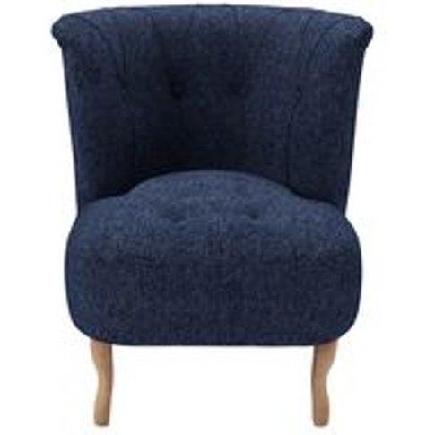 Evie Armchair In Twilight Wool Marl