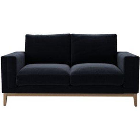 Costello (Plinth) 2 Seat Sofa In Pitch Smart Cotton