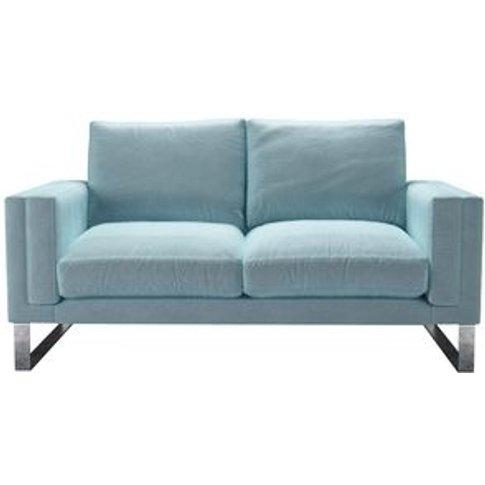Costello 2 Seat Sofa In Powder Blue Smart Velvet