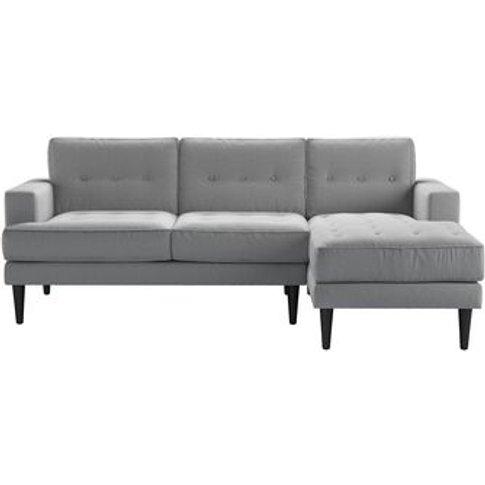 Mabel Medium Rhf Chaise Sofa In Pumice House Plain W...