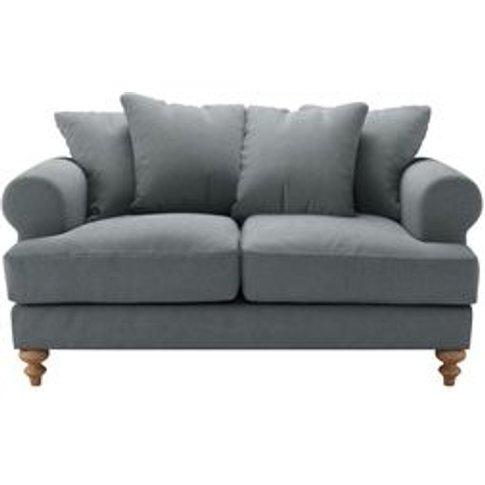 Teddy 2 Seat Sofa In Burnham Norfolk Cotton