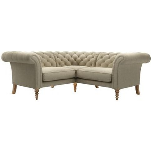 Oscar Small Corner Sofa In Brancaster Norfolk Cotton