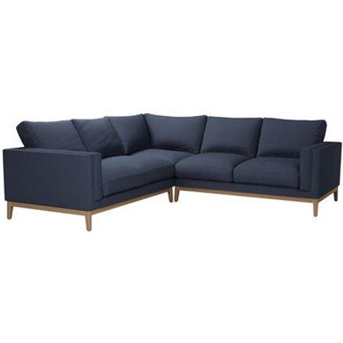 Costello (Plinth) Medium Corner Sofa In Mercury Smar...