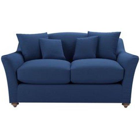 Rupert 2 Seat Sofa In Delphinium Smart Linen