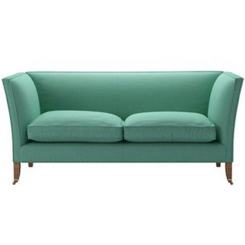 Descartes Plain 2.5 Seat Sofa In Jungle Smart Linen