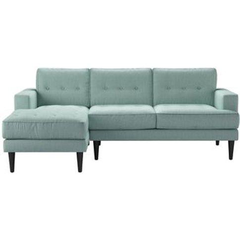 Mabel Medium Lhf Chaise Sofa In Cambridge Blue Pure ...