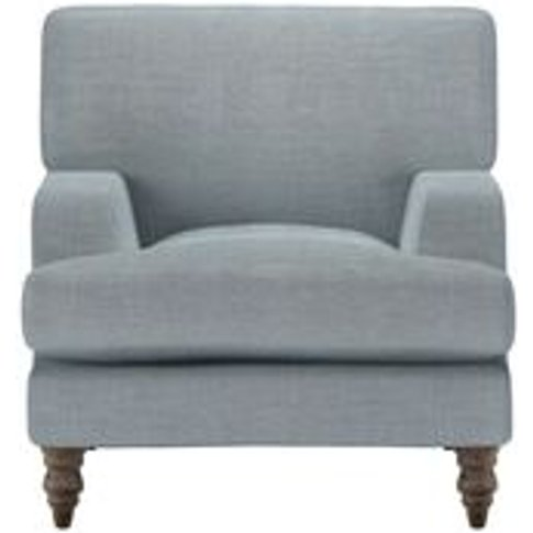 Isla Small Armchair In Buttermere Baylee Viscose Linen