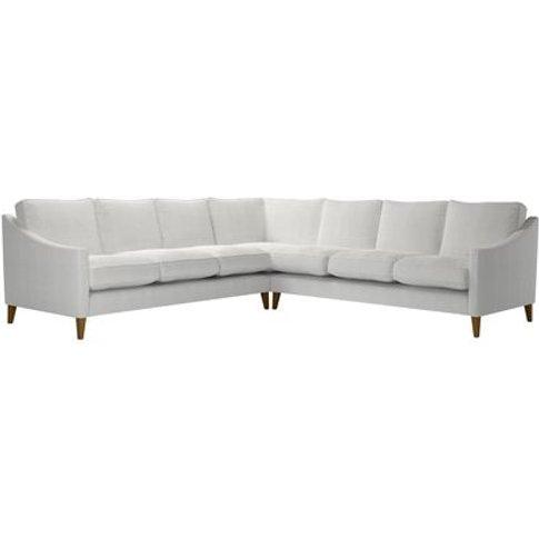 Iggy Large Corner Sofa In Pumice House Basket Weave