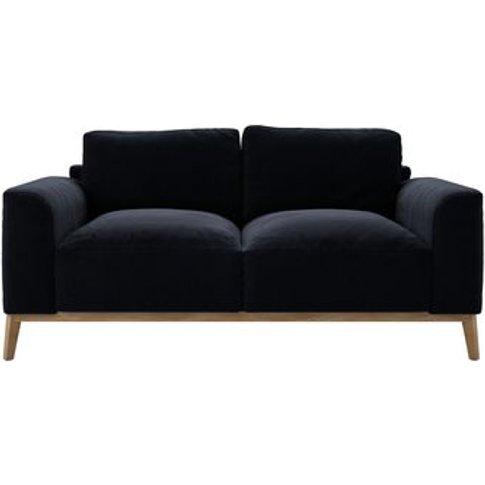 Freddie 2.5 Seat Sofa In Pitch Smart Cotton