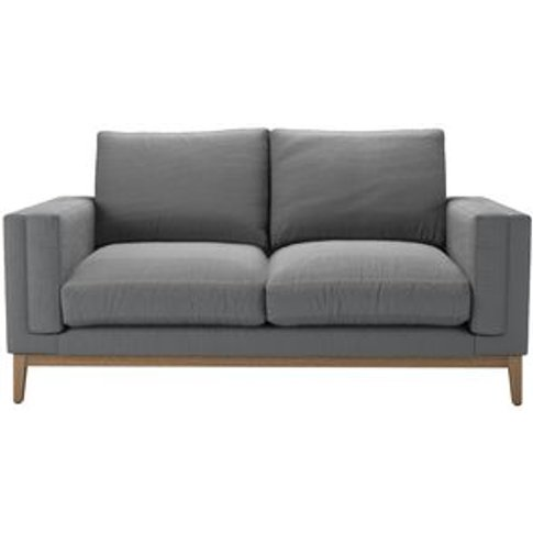 Costello (Plinth) 2 Seat Sofa In Shadow Brushed Line...