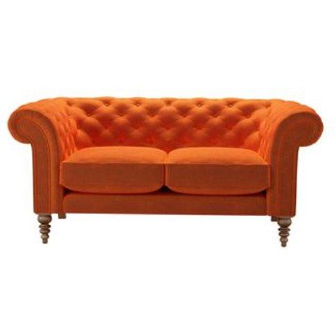 Oscar 2 Seat Sofa In Paprika Smart Velvet
