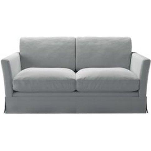 Otto 2 Seat Sofa In Denim Chessnea Stripe