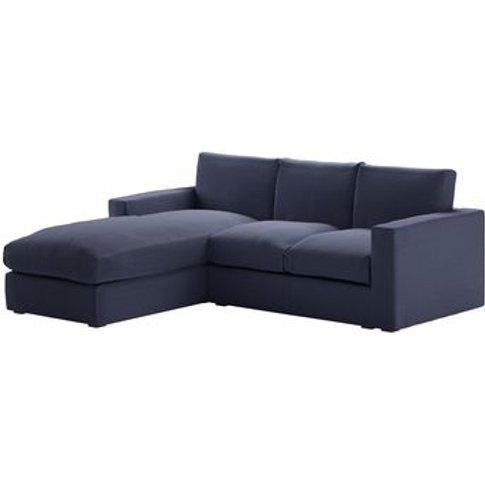 Stella Medium Lhf Chaise Sofa In Uniform House Plain...
