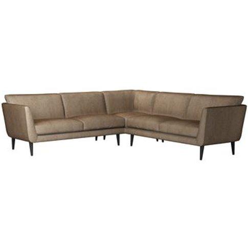 Holly Medium Corner Sofa In Light Natural Leopard