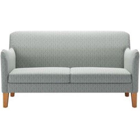 Lily 2 Seat Sofa In Nickel Hawthorn Stencil