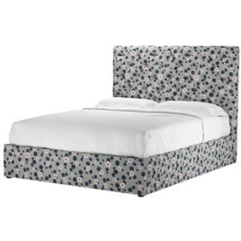 Rosalie 130cm King Ottoman Bed In Hippo Wild Thing