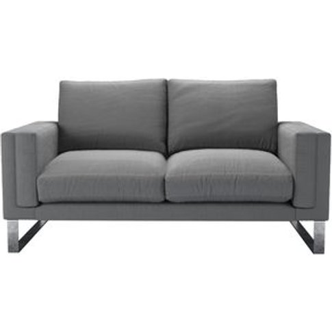Costello 2 Seat Sofa In Shadow Brushed Linen Cotton
