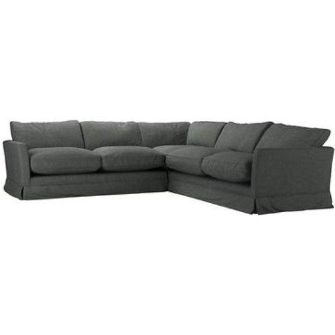 Otto Medium Corner Sofa In Wells Norfolk Cotton