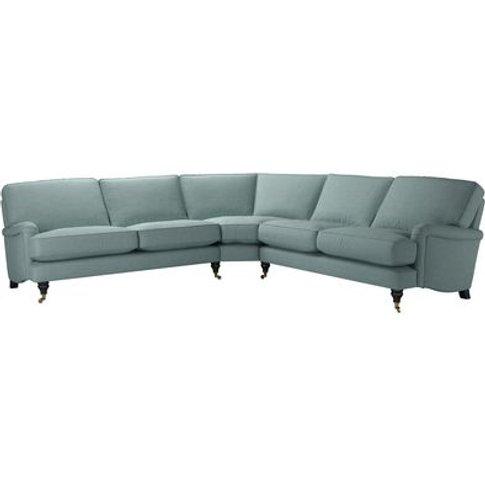 Bluebell Large Corner Sofa In Holkham Norfolk Cotton