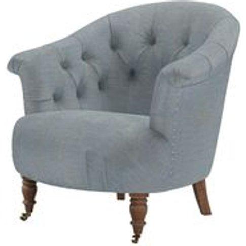 Bertie Armchair in Buttermere Baylee Viscose Linen