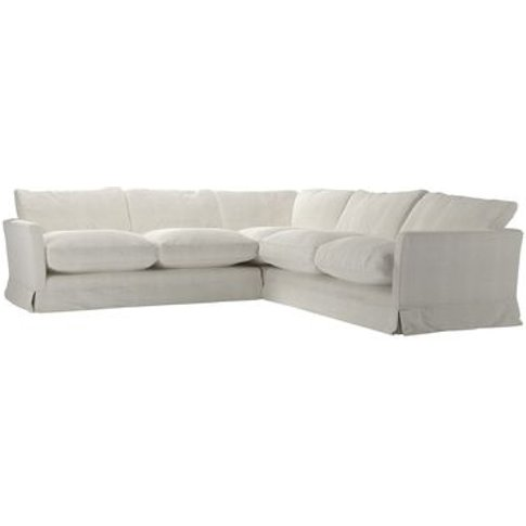 Otto Medium Corner Sofa In Clay House Basket Weave