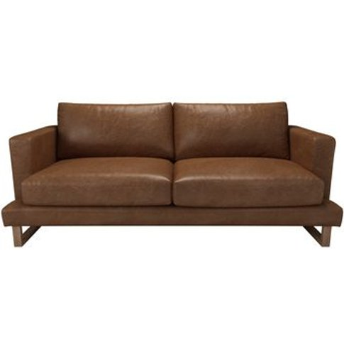 Madison 3 Seat Sofa In Tan Vintage Leather