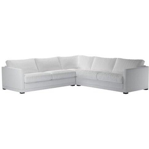 Aissa Large Corner Sofa In Pumice House Herringbone ...
